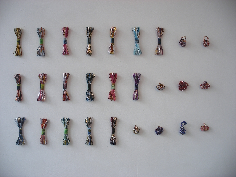 5-pass-me-another-crisp-packet-skeins-and-brooches-wallmounted-2009