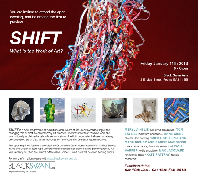 Shift at Black Swan Arts Centre